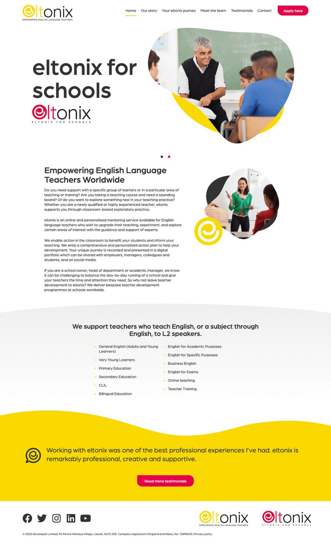 eltonix-homepage